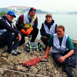 Archaeonautic-Team in Kroatien